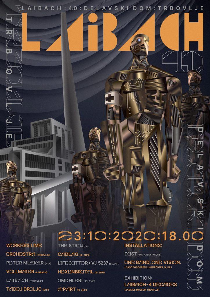 laibach Promo koncert samo live stream