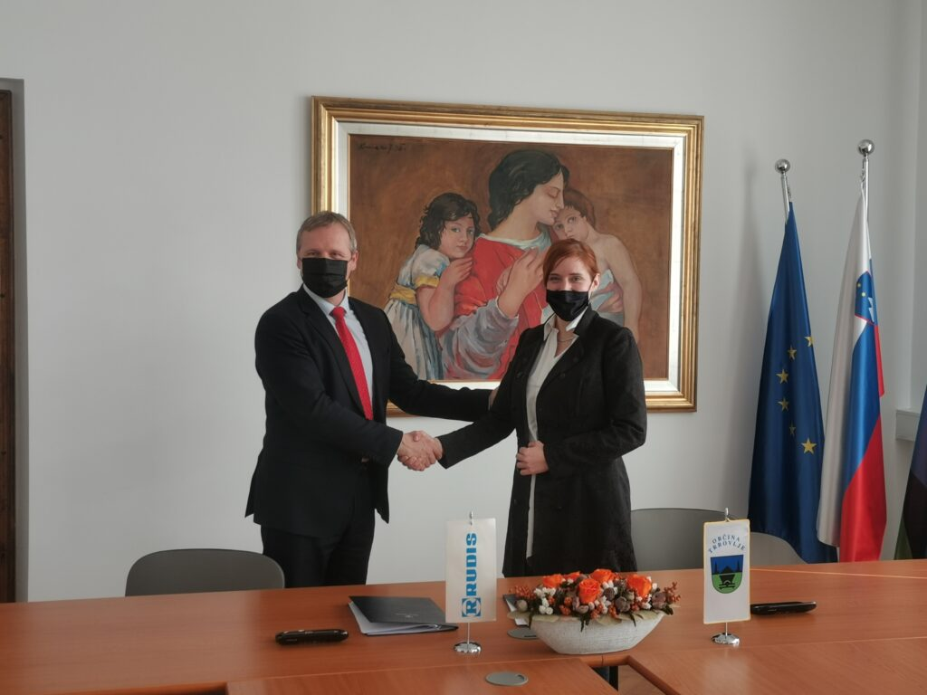 Podpis pogodbe Vila park