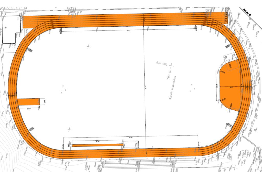 Zasnova stadiona